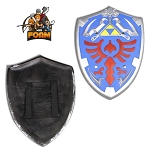 WarFoam HERO Blue Link Hylian Triforce Foam Shield Legend of Zelda Cosplay