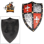 WarFoam Medieval Royal Crusader Knight Foam Shield Coat Of Arms