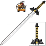 Foam Padded Master Dark Link Shadow Triforce Sword Cosplay WarFoam