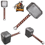 Foam Costume Block Cosplay Hammer WarFoam