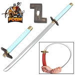 WarFoam Grimmjow Jeagerjaques Anime Foam Sword Zanpakuto Cosplay Roleplay Costume