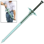 WarFoam Kiritos Dark Repulser SAO Foam Sword Cosplay Costume
