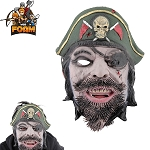 WarFoam Captain Pirate Mask For Cosplay Halloween Masquerade