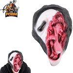 WarFoam Ghost Face Scary Horror Mask For Cosplay Halloween Masquerade