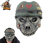 WarFoam Military Army Skull Mask For Cosplay Halloween Masquerade War Monster
