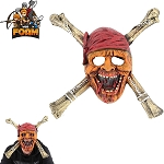 WarFoam Undead Pirate Skull CrossBones Mask For Cosplay Halloween Masquerade