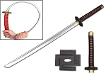 Anime Ichigo Tensa Bankai Cutting Moon Foam Sword Cosplay Costume LARP