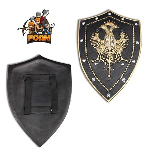 WarFoam Medieval Crusader Knight Twin Eagle Foam Fantasy Shield