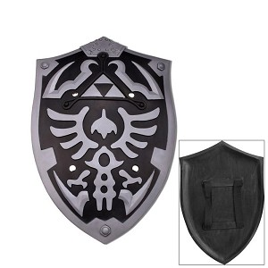 Dark Foam Zelda Hylian Cosplay Shield